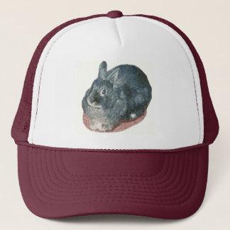 灰色のWoolyウサギの帽子 キャップ