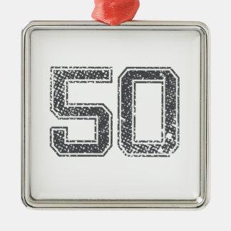 灰色はジャージー#50を遊ばします メタルオーナメント