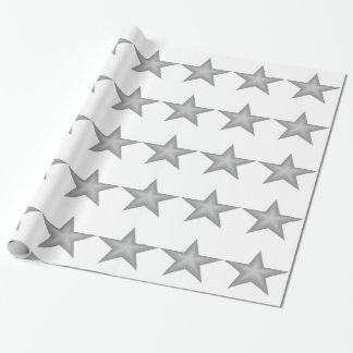 灰色はテーマの包装紙を主演します ラッピングペーパー