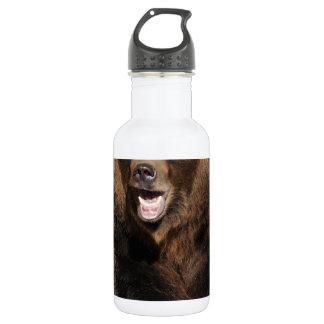 灰色グマの雄豚 ウォーターボトル