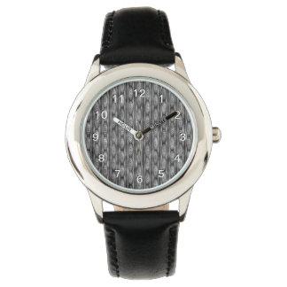 灰色パターン 腕時計