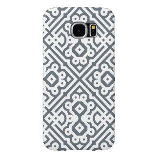灰色ユニークなモロッコのカスタマイズ可能な色 SAMSUNG GALAXY S6 ケース
