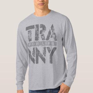 灰色人生の信頼できる車伝達のためのTRANNY Tシャツ