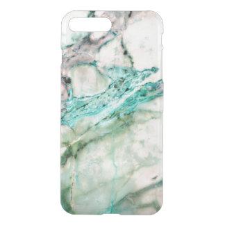 灰色及び緑の大理石の質のデザイン3 iPhone 8 PLUS/7 PLUS ケース