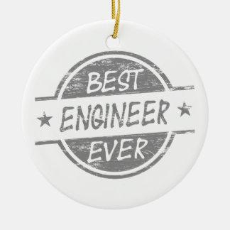 灰色最も最高のなエンジニア セラミックオーナメント