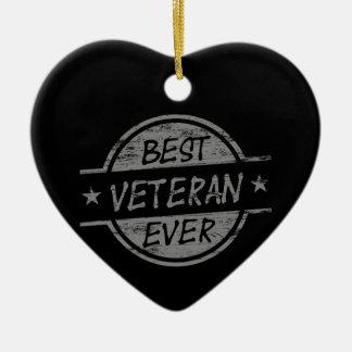 灰色最も最高のな退役軍人 セラミックオーナメント