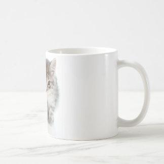 灰色猫 コーヒーマグカップ
