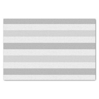 灰色白のストライプ 薄葉紙