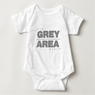 灰色\曖昧な点の服装 ベビーボディスーツ