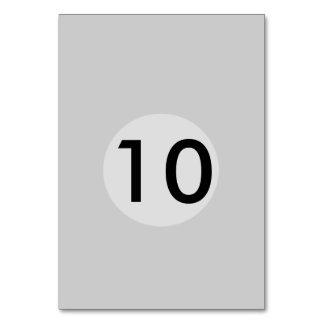 灰色/灰色のテンプレート カード
