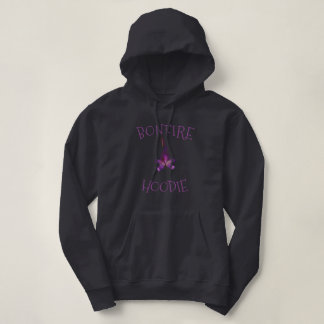 灰色/紫色篝火のフード付きスウェットシャツの女性 パーカ