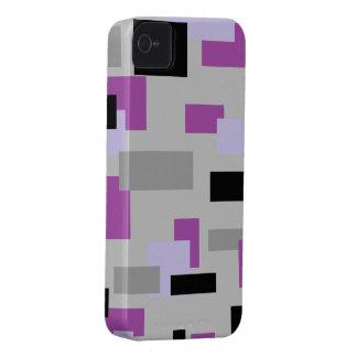 灰色、黒およびLavendar Case-Mate iPhone 4 ケース