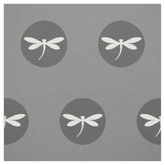 灰色BGのデザインのカスタマイズ可能なトンボ色 ファブリック
