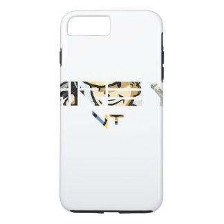 灰色VTのiPhone 7のプラスの堅い場合 iPhone 8 Plus/7 Plusケース