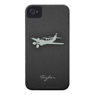 灰|灰色|飛行機 iPhone 4 カバー