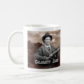 災害のジェーンの歴史的マグ コーヒーマグカップ