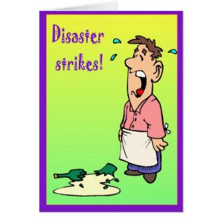 災害の殴打 カード