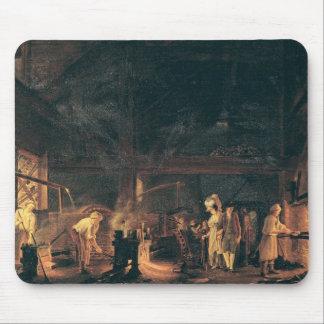 炉のインテリア、1771年 マウスパッド