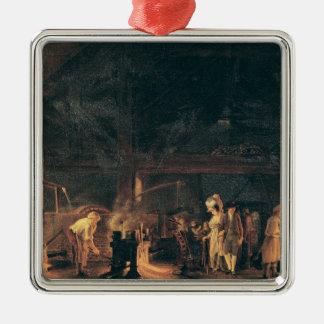 炉のインテリア、1771年 メタルオーナメント