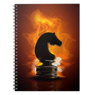 炎のチェスの騎士 ノートブック