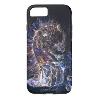 炎のドラゴンの炎龍 iPhone 7ケース