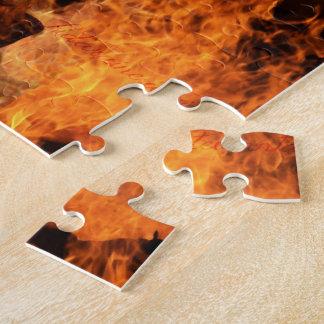 炎のパズルの鋳造物 ジグソーパズル