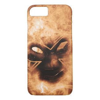 炎のマスクの場合 iPhone 8/7ケース