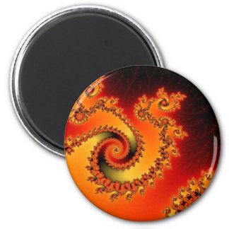 炎の三重の回転の磁石 マグネット