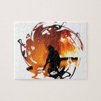 炎の円 ジグソーパズル