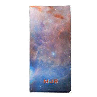 炎の星雲のモノグラムの火-オリオンの… ナプキンクロス