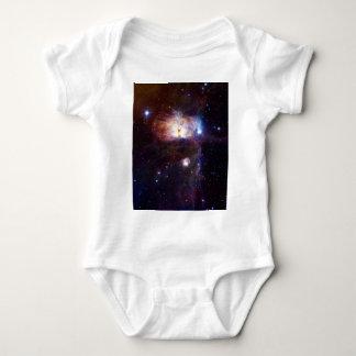 炎の星雲NGC 2024年の隠された火 ベビーボディスーツ