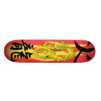炎の火のドラゴンはスケートボードをリミックスします 20CM スケートボードデッキ