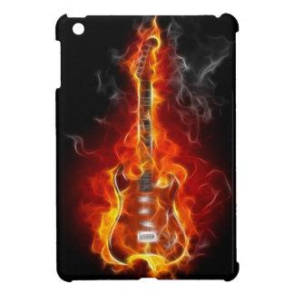 炎の石及びロールギター iPad MINIケース