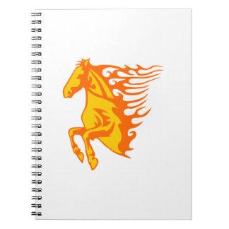 炎の馬 ノートブック
