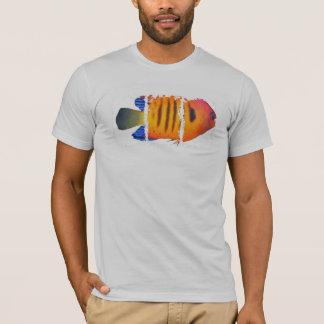 炎のAngelfishのアメリカの服装のTシャツ Tシャツ