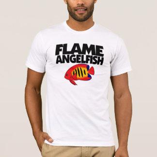 炎のAngelfishのTシャツ Tシャツ