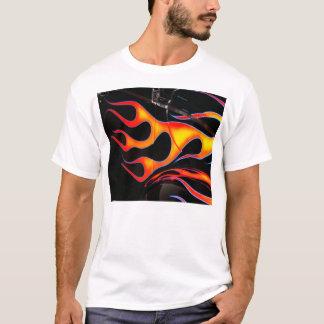 炎のTシャツを改造しました Tシャツ