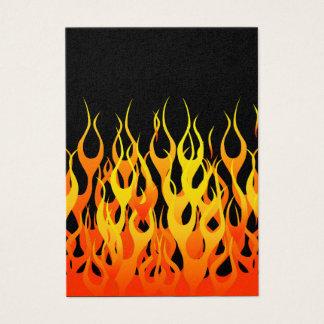 炎を競争させるクラシックはスタイルを改造しました 名刺