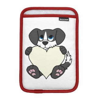 炎及びクリームのハートのバレンタインデーの憂うつ iPad MINIスリーブ