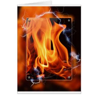 炎焦点 グリーティングカード