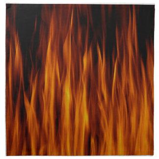 炎 ナプキンクロス