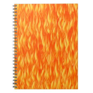 炎 ノートブック