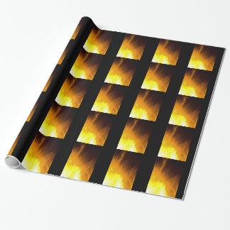 炎 包装紙
