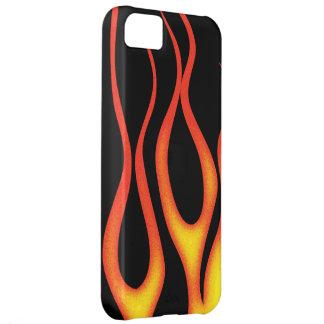 炎 iPhone5Cケース