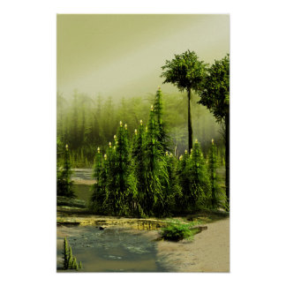 炭素を含む森林 ポスター