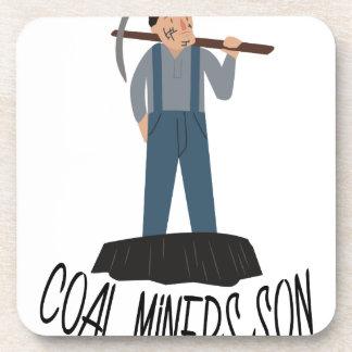 炭鉱作業員の息子 コースター