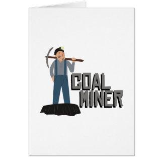 炭鉱作業員 カード