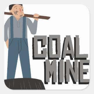 炭鉱作業員 スクエアシール