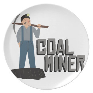 炭鉱作業員 プレート
