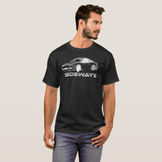 点々のあるな日産240sxの漂流 tシャツ